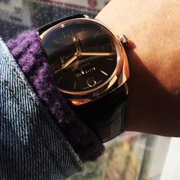 rosa mecânico Desconto luxo relógio mecânico automático subiu relógios de ouro dos homens de aço inoxidável esporte relógio de pulso 50 cronógrafo à prova d 'água Montre de luxe