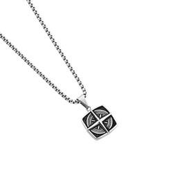 18a09a063e bussola fascini gioielli Sconti Ciondoli Croce unica Bussola Design Uomo  Collane Charms Moda Catene di gioielli
