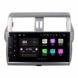 "Toyota prado dvd player онлайн-2 ГБ ОЗУ Quad Core 10.1 ""Android 7.1 Автомобильный DVD-плеер для Toyota Prado 150 2014 2015 2016 С Радио GPS WIFI Bluetooth 16 ГБ ROM"