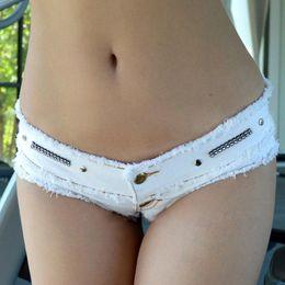 Wholesale Sexy Cowboys Clothing - 2017 Summer Women's Jeans Shorts Tide Mini Cowboy Shorts Ultra-short Women's Sexy Demin Female Nightclub Clothing