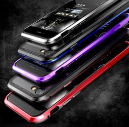 Новый стиль магнитный сотовый телефон чехол для Samsung Galaxy S9 Note9 Note8 закаленное стекло задняя крышка +металлический бампер чехлы для iPhone Xs Max Xr X от Поставщики магнитные чехлы для мобильных телефонов