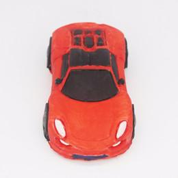 Auto schokolade online-C122 3D Sport Auto Aromatherapie Gips Dekoration Form Schokolade Fondant Dekoration Backmousse Silikonform