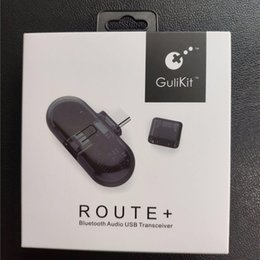 2019 spielkartenadapter GB1 ROUTE Wireless Bluetooth Transmitter Transceiver Headset Für NS Schalter PC Audio USB Typ-C Adapter Kostenloser Versand