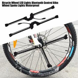 La roue de bicyclette LED allume le vélo intelligent de lumière intelligente de roue de contrôle de Bluetooth Bluetooth imperméable pour le téléphone ? partir de fabricateur