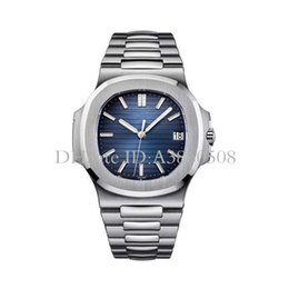 Wholesale vintage black watch - Geneva Luxury Brand Stainless Steel Strap Quartz Men Watches Vintage High Quality PP Watch Moon Phase Casual Nautilus Wristwatch