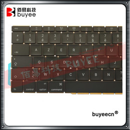 Wholesale Laptops French Keyboard - Original New Laptop A1708 Azerty Layout FR Keyboards For Macbook Retina Pro 13 Inch A1708 French Keyboard 2016 Year Replacement
