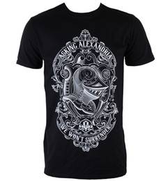 Herren T-Shirt Asking İskenderiye - Teslim Olmayacak - PLASTİK HEA - Marka Tarzı Kısa Kollu nereden
