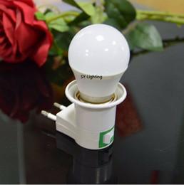 Adaptador de tipo au online-EE. UU. REINO UNIDO UE Tipo AU LED debajo del adaptador de enchufe de luz del gabinete E27 Socket Bombilla Titular de la lámpara para armario Armario de cocina Led luz de la noche