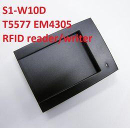 2019 cartes de programmation S1-W10D T5577 EM4305 Lecteur / enregistreur RFID 125khz RFID usb / R232 Lecteur de bureau SDK gratuit pour le contrôle d'accès