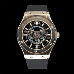 Wholesale High End Mens Watches - Wholesale Quartz Mens Watches High Quality Luxury Wristwatches high-end men's Silicone watchband business watches 2018