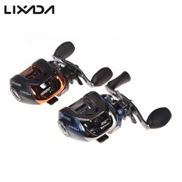 Wholesale coil reel - Lixada Carp Fishing Reel 11 Ball Bearings Left  Right Hand Bait Casting Fishing Coils Baitcasting Carretilha De Pesca 6 .3 :1 Af103