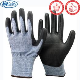 guanti meccanici xl Sconti Guanti da lavoro NMSafety Guanti di protezione meccanica Guanti da lavoro anti-taglio guantes anticorte resistencia nivel 5 D18110705