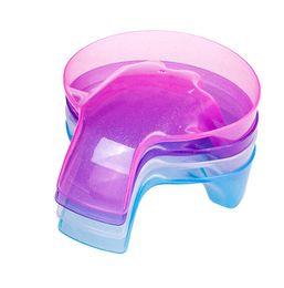 2019 cola plástica Dedo tigela Prego Ferramenta de Plástico Removedor de Unhas Remover a cola de óleo de cristal fototerapia cola frete grátis cola plástica barato