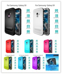 Wholesale Snow Proof - Redpepper Waterproof Case For Samsung Galaxy S9 S8 plus Note8 Iphone X 8 7 6 5SE snow water Shock proof cover cases