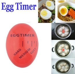 Wholesale Hard Boiled - Egg Timer Creative Perfect Color Changing Egg Timer Soft Hard Boiled Eggs Cooking Kitchen Eco-Friendly Resin Eggs Timer 100pcs OOA3956