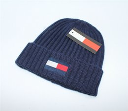6802d6e6ff1 2018 Famous Designer Brand Beanies Luxury Fashions Knitting Hats Autumn  Winter Men Women Kids Caps Xmas Gift