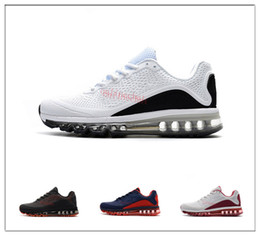 Wholesale Cheap Plus Size Shoes - 2018New Casual Shoes Airs Cushion 90 KPU 2017.5 Men High Quality Sneakers Cheap All Black Designer Zapatillas Hombre Plus Size 40-47