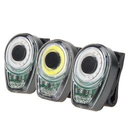 Wholesale Mountain Building - 100 Lumen LED Bike Rear Tail Light 6 Modes USB Rechargeable Built-in Battery Cycling MTB Mountain Bicycle Lights Red White Blue