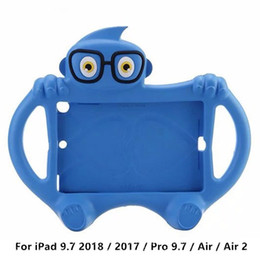 Argentina Para iPad 9.7 2018/2017 / Pro 9.7 / Air 2 / mini iPad Air Kids Case Cute Cartoon a prueba de golpes Espuma EVA Stand Funda supplier cute ipad mini cartoon cases Suministro
