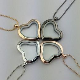 Medallón flotante collar medallones 28MM collares para mujeres Living Locket colgante collar de regalo de joyería de moda desde fabricantes