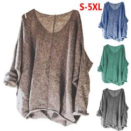 219904981 Nueva moda para mujer manga larga Casual Tops sueltos otoño invierno Tops  de punto camiseta para mujer ropa de calle ropa más tamaño ropa de punto  para ...
