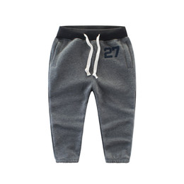 Wholesale Children Boy Pants Pocket - Casual Kids Boys Clothing Pants Long Cotton Boys Girls Trousers Sports Child Clothes Pants casual BY-066
