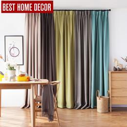 vorhang falten stile Rabatt BHD Leinen moderne Plissee Tuch Blackout Vorhänge für Jalousien Japan Stil Blackout Vorhänge für Wohnzimmer Schlafzimmer