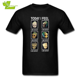 Wholesale Galaxy Tshirts - Guardians Of The Galaxy T Shirt Adult Latest Tshirts Casual Summer Comfortable T-Shirt Men Summer Round Neck Teenboys Tee