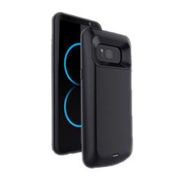 Заряжатель батареи случая банков силы мобильного телефона 5500mah для Samsung S8 плюс случай зарядки аккумулятора в штоке от