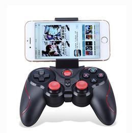 2019 controlador de juegos bluetooth android DHL 20 unids S5 Controlador de juegos inalámbrico Bluetooth Gamepad Joystick para IOS iPhone iPad Android Teléfono inteligente Smart TV VR Box rebajas controlador de juegos bluetooth android