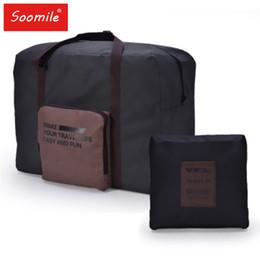 Women Fashion Large Capacity Trolley Travel Bag Mens Waterproof Suitcase  Luggage Bag Portable Folding Duffle e4035d0bd6880