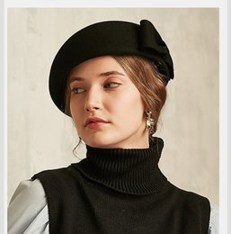 french beret hats Australia - Hot Fashion Solid Color Warm Wool Winter Women  Beret French Artist c104f1bb9f85