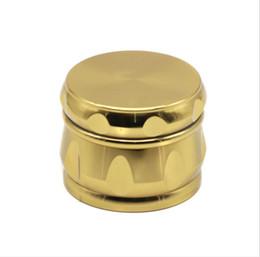 2018 новые сигареты оптовиков оптом четыре уровня 63 мм золото барабан типа цинкового сплава дым Блиндер. supplier cigarettes wholesalers от Поставщики сигареты оптом