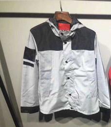 Wholesale Long Sleeves For Men - M-3XL Designer Hoodie Sweatshirt Streetwear Sup Hoodies For Men Luxury Brand Windbreaker Night Reflective Light Mens Jacket Clothing