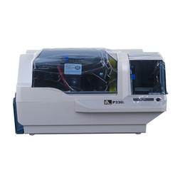 Wholesale original printer - Original Zebra P330i PVC, ID card printer support print images use special color ribbon for business etiquetadora