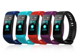 Y5 Bracelet Intelligent Électronique Bracelet Couleur LCD Montre Activité APP Fitness Tracker Pression Artérielle Fréquence Cardiaque IP67 Étanche Bande de Sport ? partir de fabricateur