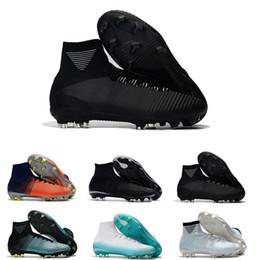 6998c108e8c High Mens Mercurial Superfly SuperflyX VI Elite CR7 Exclusive FG 11 Ronaldo  Soccer Shoes Cleats Kids Women Boys Football Boots futbol 39-45 discount ...
