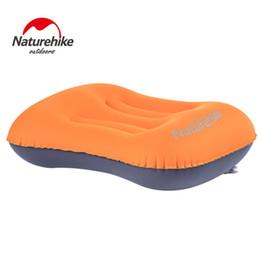 mini travel pillows NZ - NatureHike Portable Ultralight TPU Pillow Soft Air Inflatable Pillow Mini Outdoor Camping Travel with Retail Box