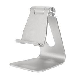 Wholesale tablet mount stand holder cradle - Universal Aluminum Table Desk Mount Stand Holder Cradle for Tablet Mobile Phone