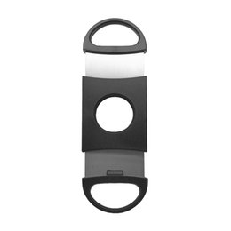 Wholesale Double King - High Quality Cheap Price Cigar Cutter Stainless Steel Double Blade Cigar Scissors Durable Smo king Accessories
