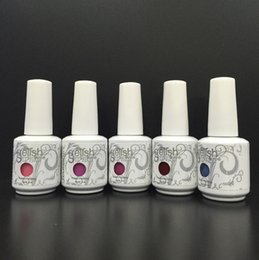 gel couleurs parfaites Promotion Vernis à ongles Gelish Soak Off Gelcolor Polish Colours LED UV Gel lustrant 288 couleurs! dropshipping livraison gratuite