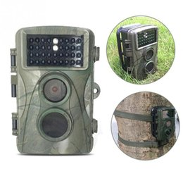 Wholesale Infrared Trail Scouting Camera Hunting - 0.6s Fast Shooting H3 Non Flash Hunting Camera Infrared Night Vision Scouting Trail Video Cameras Wildlife IR PIR MotionDetection