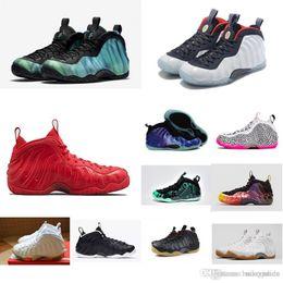 san francisco c9e0c dbbee Barato Mujeres Penny Hardaway Posite zapatos de baloncesto Galaxy Blanco  Negro Chicos Chicas Jóvenes Niños vuelos aéreos espumas una zapatillas de  deporte ...