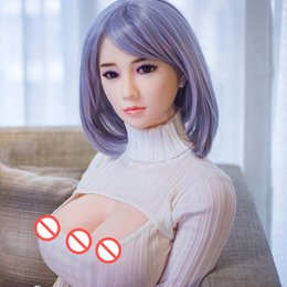 Wholesale japanese sex dolls nude - Excellect Virgin Vagina Desgin New face Big breast 163CM Realistic Pussy Sex dolls with Nude pictures