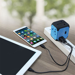 Wholesale Chinese Power Converter - US AU UK EU Plug Wall Chargers universal Travel Adapter Electric Plugs Sockets Converter with Dual USB Charging 2.4A LED Power Indicator