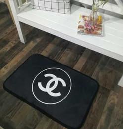 cuscini di posti a sedere Sconti 50 * 80cm Solid tappetini design piccolo soggiorno porta camera da letto stuoie cucina Nordic antiscivolo cuscino tappeto a casa del bambino di spessore