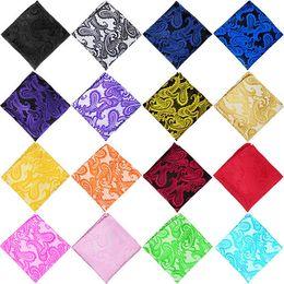 Wholesale Decoration Satin Cloth - Hot Wedding Table Napkins 22*22CM Knitted Table Napkin Satin Handkerchief Cloth Dinner Wedding kerchief Decoration Party Event T1I409