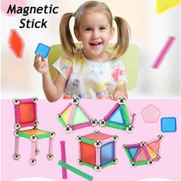 Canada DIY Puzzle Magnétique Bâton Intellect Rod Blocs de Construction Casse-tête Jeu Éducatif Enfants Jouet Meilleur Cadeau Offre