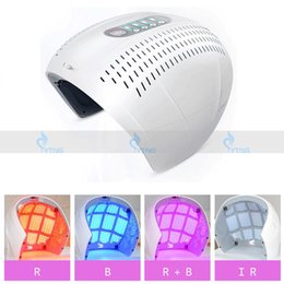 Wholesale Infrared Light Skin - Newest Led Light Therapy Machine PDT Skin Rejuvenation Red Blue Infrared Photon Acne Treatment Face Skin Care Spa Salon Use Beauty Equipment