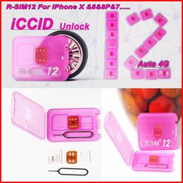 Déverrouiller l'iphone sprint ios7 en Ligne-R-SIM12 Déverrouillage parfait pour IOS11 rsim12 pour IOS11 - IOS7 Rsim 12 Rsim 12+ Déverrouiller la carte SIM pour iphoneX i8 8p 7 7p 6plus 6s 5s Sprint ATT AU